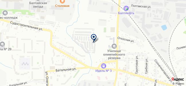 Бибикар на карте