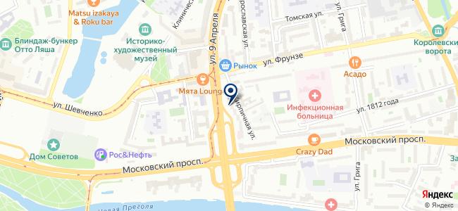 Балтийская ЭлектроКомпания, ООО на карте