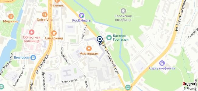 АМД-Энергострой, ООО на карте