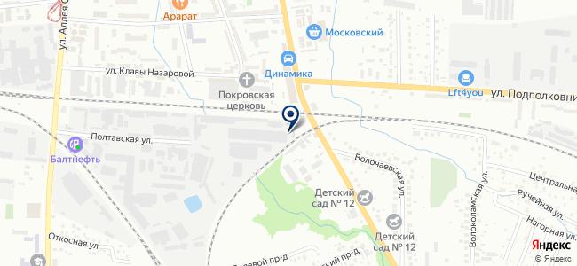 ЭСВА-ИТС на карте