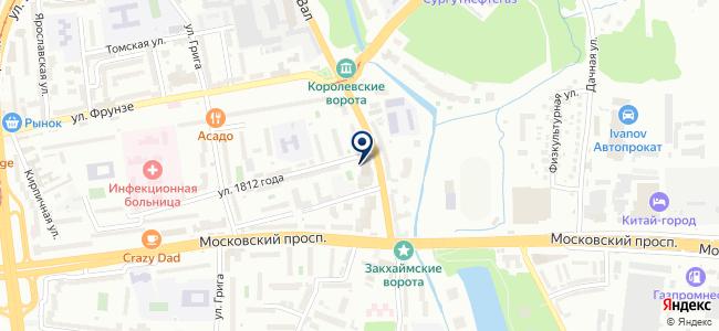 Никор, ООО на карте