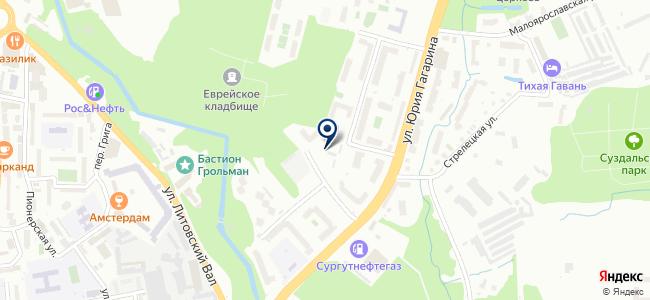Техэлектромонтаж, ООО на карте