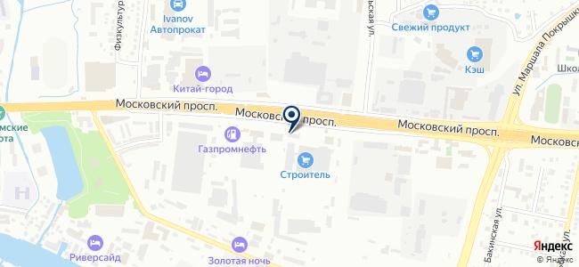Янтарь-электро на карте