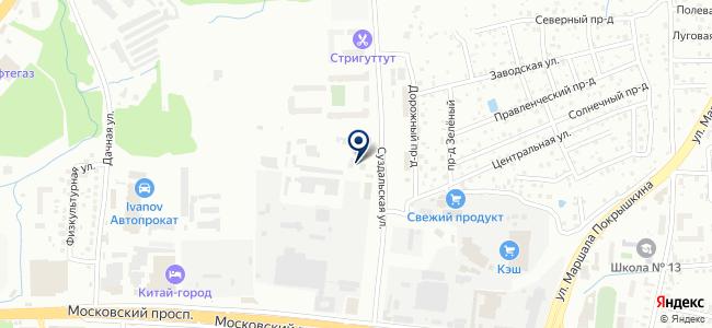 Зеленоградск-Транс на карте