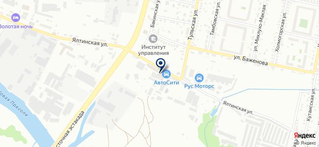 Subaru на карте