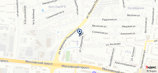 Моно-Трест, ООО на карте