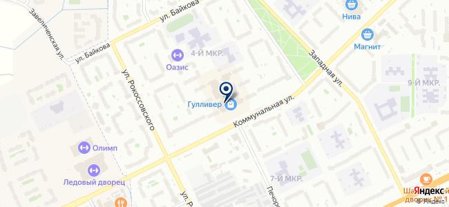 Детали интерьера на карте