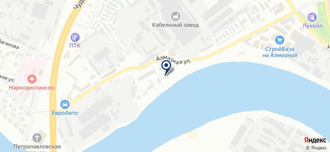 Севзапмонтажавтоматика, ОАО на карте