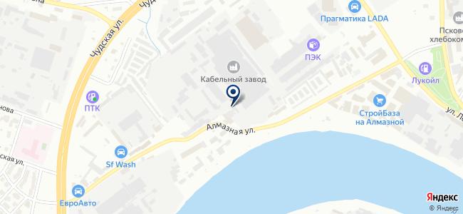 Псковгеокабель, ООО на карте
