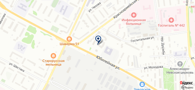 Офис Маркет на карте
