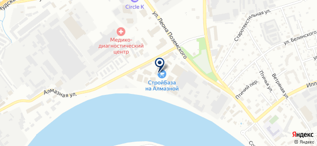 Крепеж+ на карте