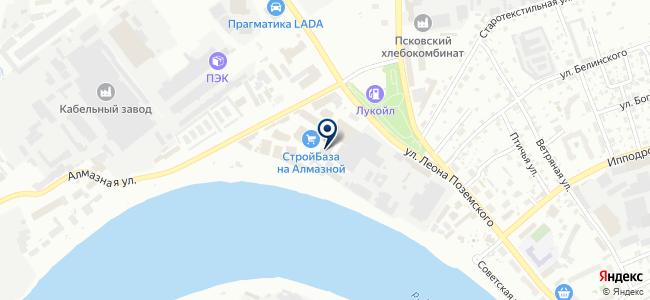 Стройкреп на карте