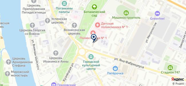 Петрокрипт, ООО на карте