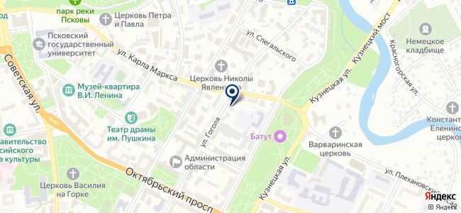 Стикс, ООО на карте