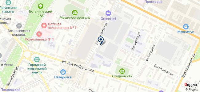 Псковский электромашиностроительный завод, ОАО на карте