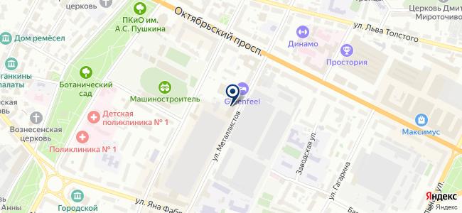 Такском, ООО на карте