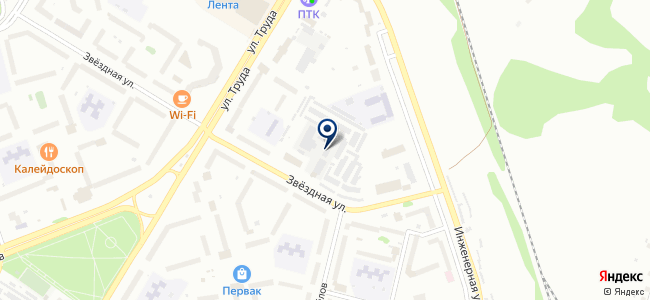 Осирис, ООО на карте