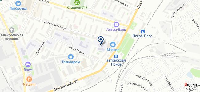 Элвар-Проект на карте