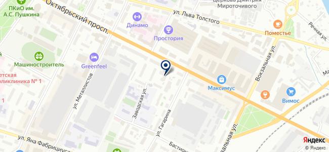 Сеть.ру на карте