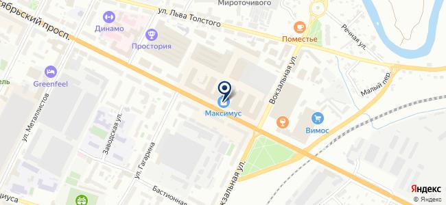 Минимакс на карте