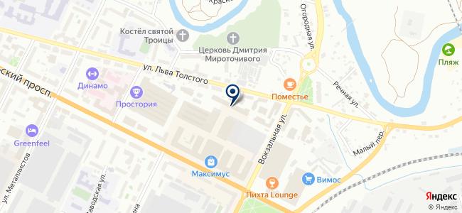 Автосервис на Октябрьском проспекте, 50 к2 на карте