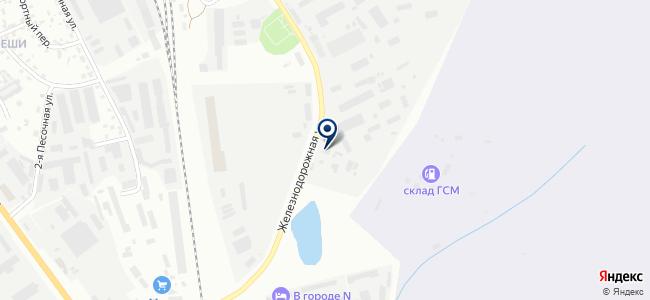 Техэлектро на карте
