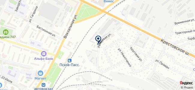 Псковский кабельный центр, ООО на карте