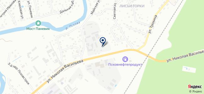 Передвижная электролаборатория на карте