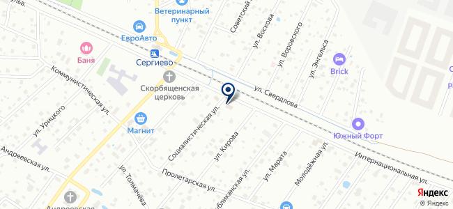 Электротехцентр на карте
