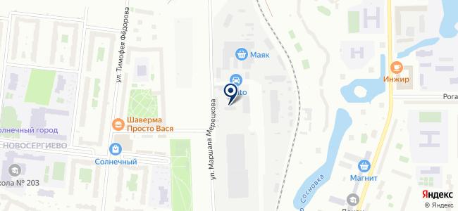 Электромонтаж 54, ООО на карте