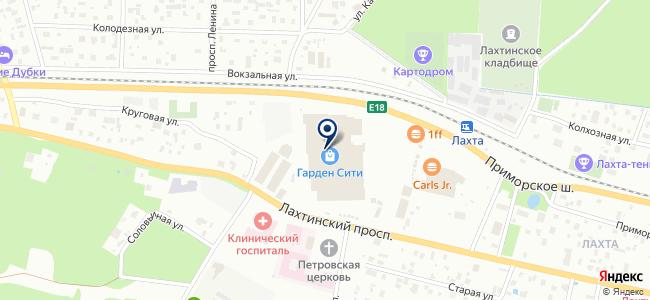 Design tet-A-tet на карте