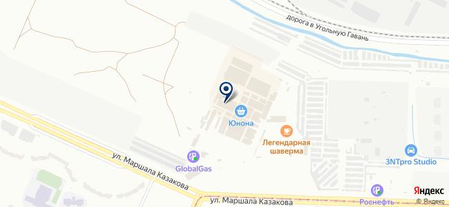 Магазин радиотехники на карте