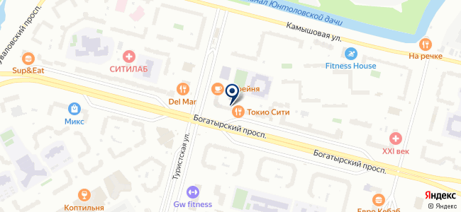 SimpleLED на карте