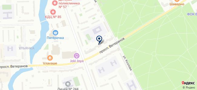 Дом Лаверна на карте