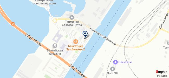 Судпромэкс на карте