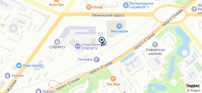 Турбосервис на карте