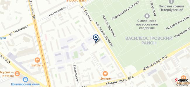 Лидар, ЗАО на карте