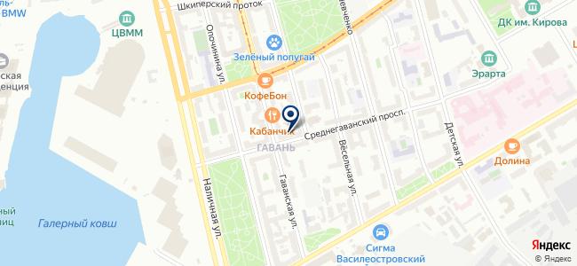 Плутон Холдинг, ЗАО на карте
