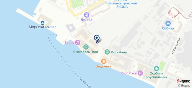 Севгеокабель, ООО на карте