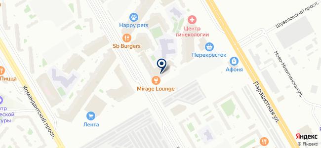 Деко-Лайн Нева на карте