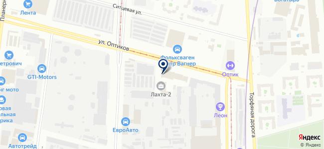 Графико, ООО на карте