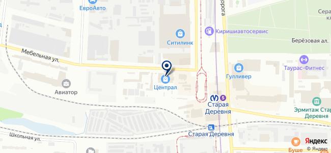 ТЕПЛЫЙ ПОЛ на карте