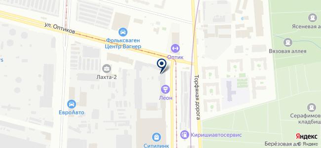 ВИСКО на карте
