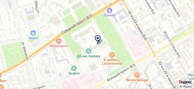 Новая Музыка СПб на карте