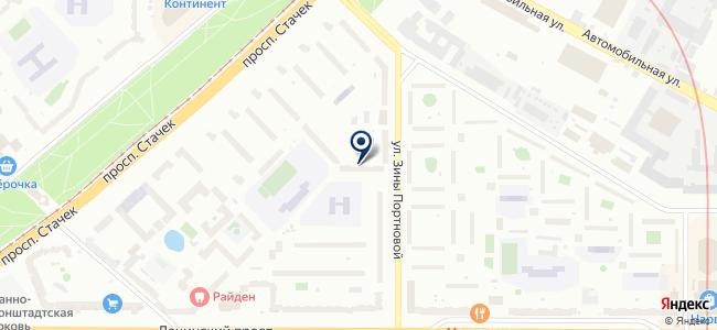 Технокон, ООО на карте