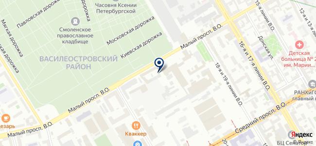 ЧЕРГОС на карте