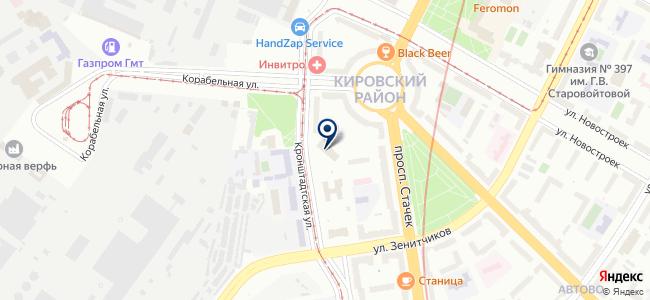 Управление Капитального Ремонта, ООО на карте