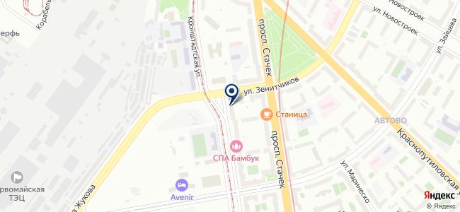 Азби на карте