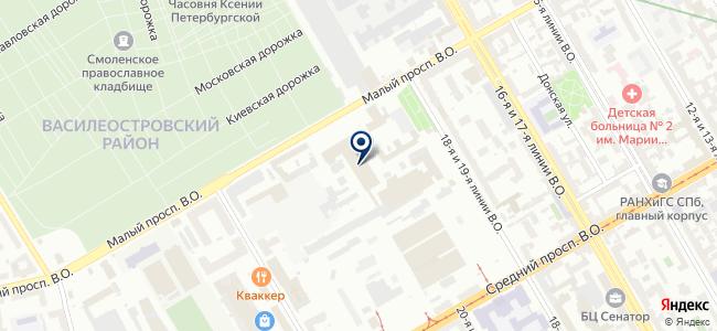 КОРУС Консалтинг на карте