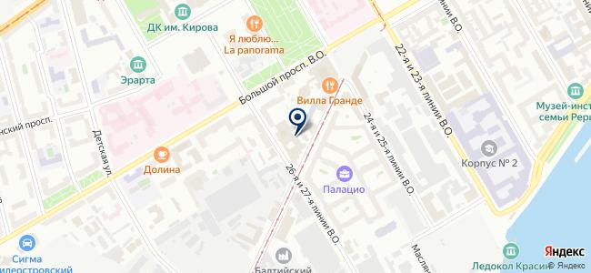 Институт Энергетической Электроники, ЗАО на карте